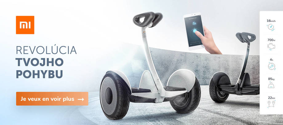 Xiaomi Hoverboardy FR - Carousel