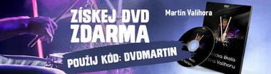 CZ - DVD zadarmo - Martin Valihora