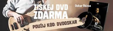 CZ - DVD zadarmo - Oskar Rózsa