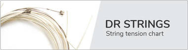 DR Strings String Chart