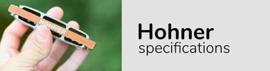 Hohner Size chart harmonica