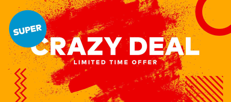 Super Crazy Deal 3.7.2020