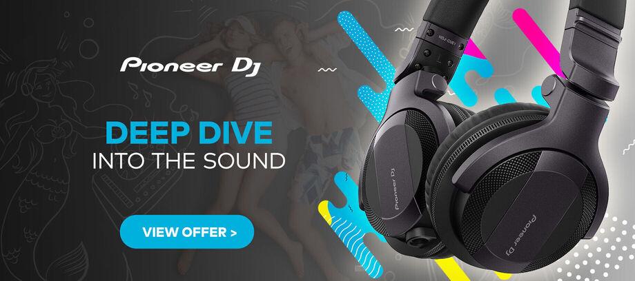 Pioneer DJ headphones - carousel - 09/2020