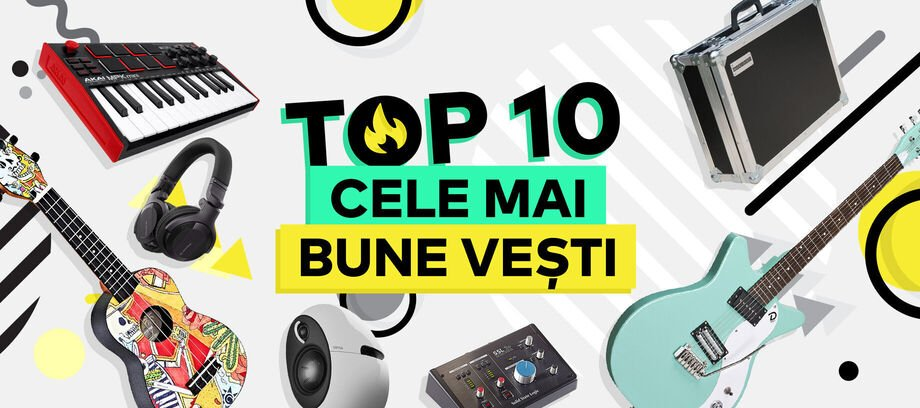 TOP 10 Noviniek