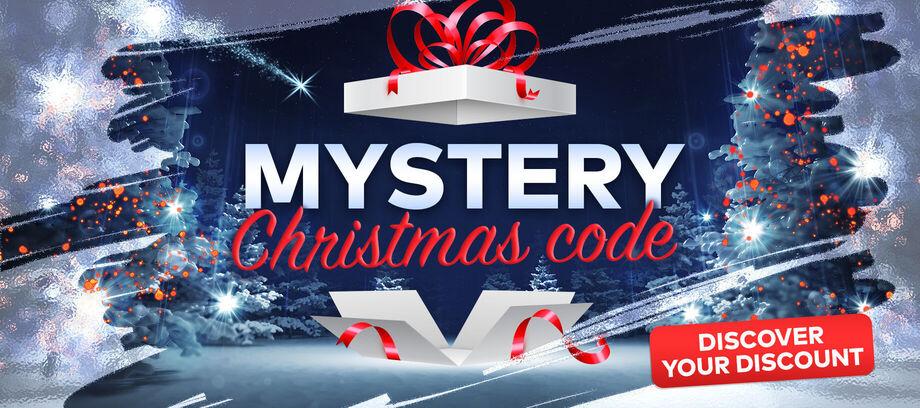Vianočný kód Mystery - carousel - 12/2020