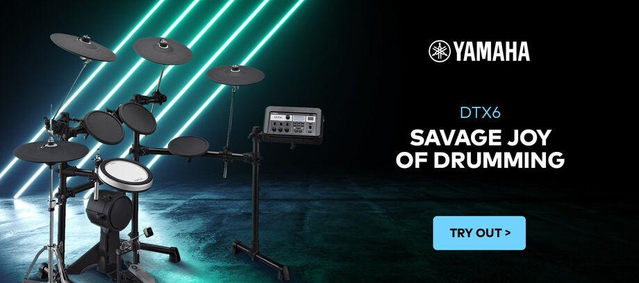 Yamaha e-drums DTX6 - carousel - 03/2021