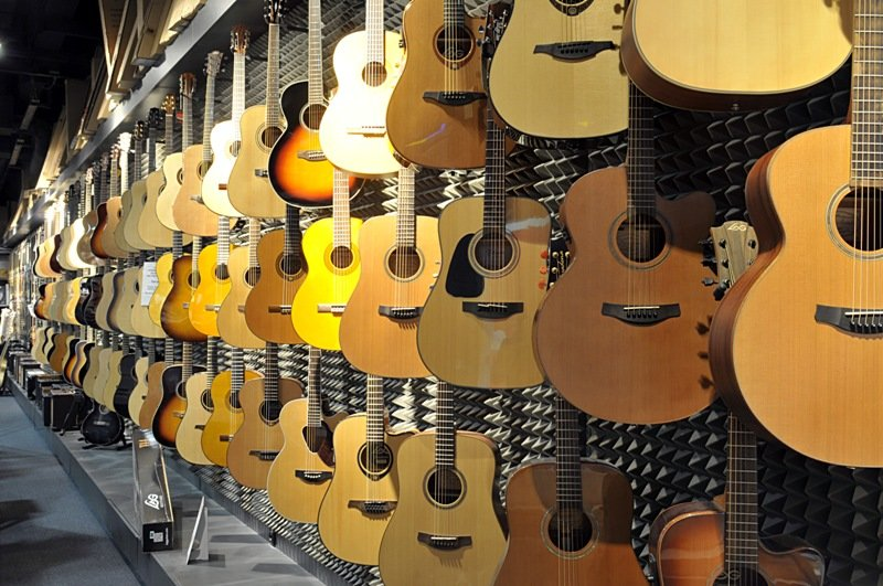 Musical instruments Bratislava - Aupark