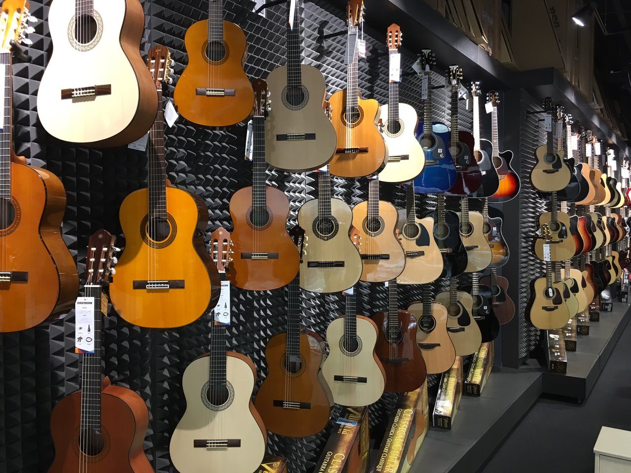 Musical instruments Bratislava - Bory Mall