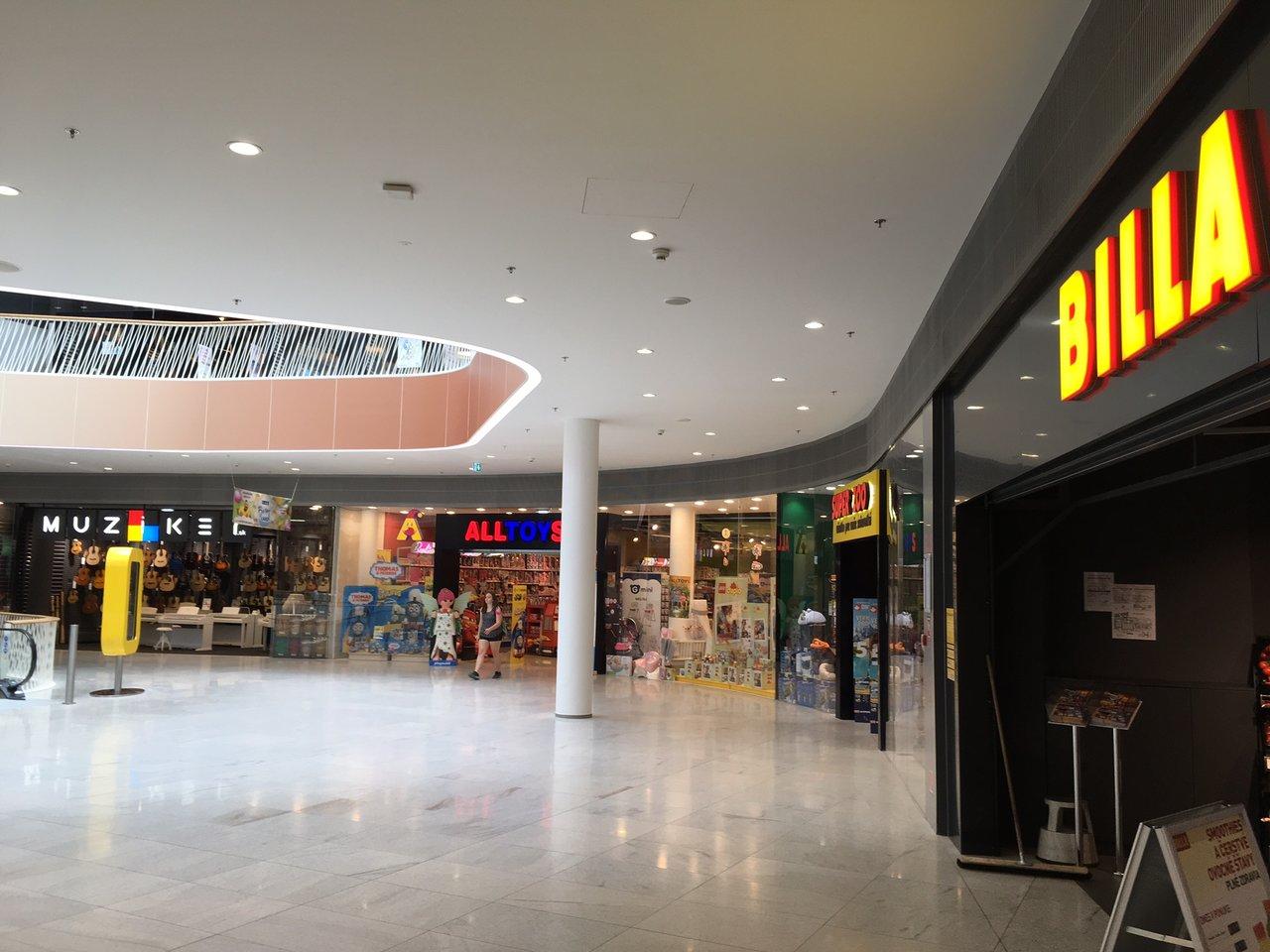 Glasbila Bratislava - Bory Mall