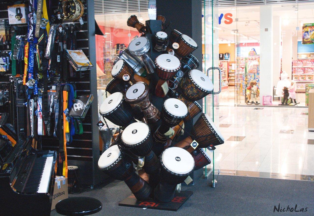 Musical instruments Košice