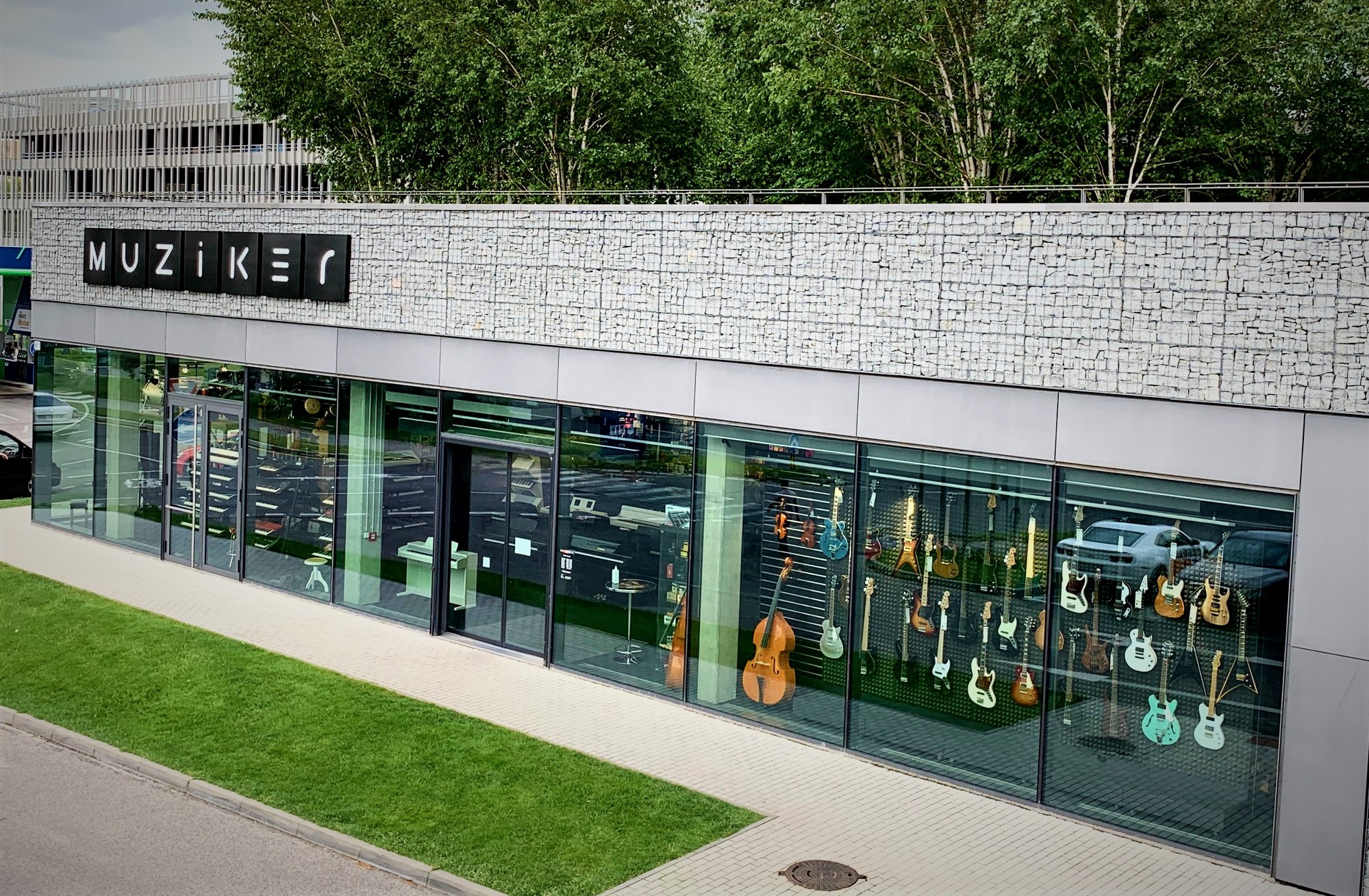Hudobné nástroje Bratislava - Digital Park