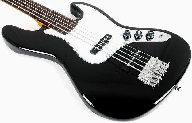 SX Vintage Jazz Bass 62 5 Black