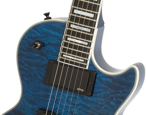 Epiphone Prophecy Les Paul Custom Plus EX Outfit Midnight Sapphire