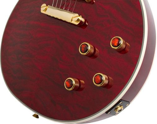 Epiphone Prophecy Les Paul Custom Plus GX Outfit Black Cherry