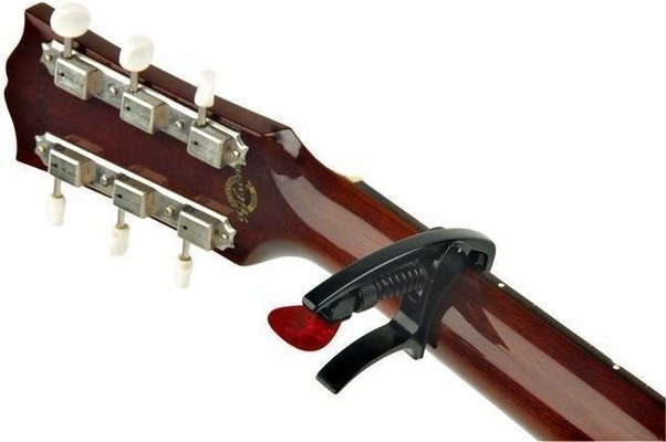 D'Addario Planet Waves PW-CP-09 Tri-Action Acoustic Electric Capo