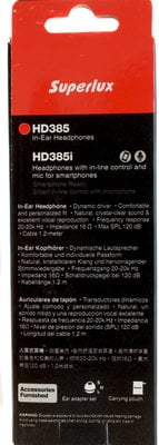 Superlux HD385