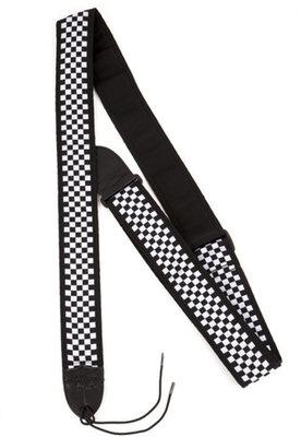 Fender Nylon Checkerboard Strap Black White