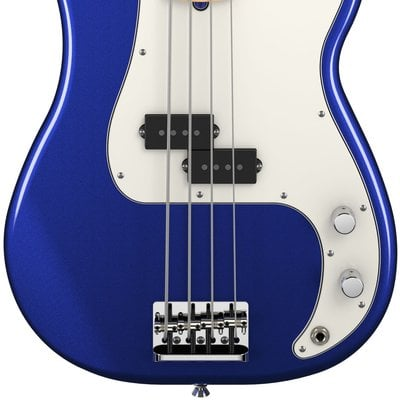 Fender American Standard Precision Bass MN Mystic Blue