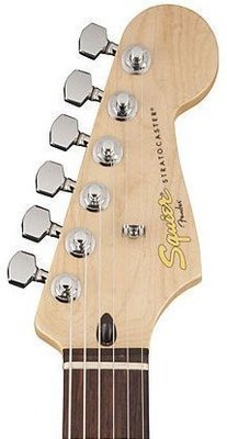 Fender Squier Deluxe Stratocaster HSH