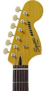 Fender Squier Vintage Modified Mustang Vintage White