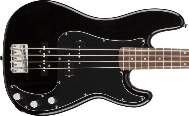 Fender Squier Affinity Series Precision Bass PJ Black
