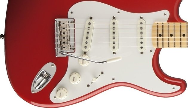 Fender Vintage Hot Rod '50s Stratocaster Fiesta Red