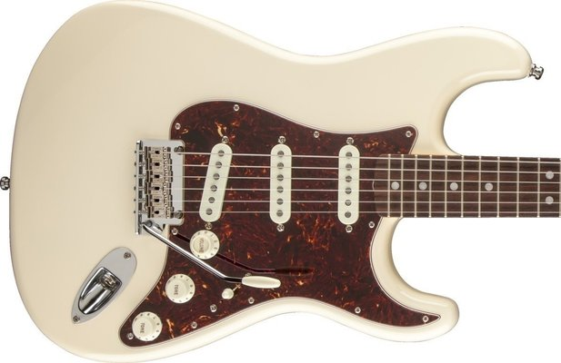 Fender Vintage Hot Rod '60s Stratocaster Olympic White