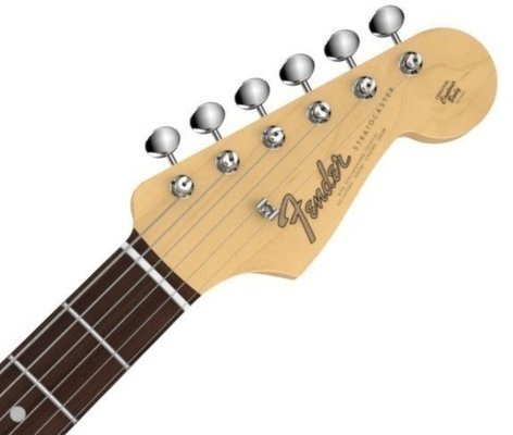 Fender American Vintage '65 Stratocaster Rosewood f. Olympic White