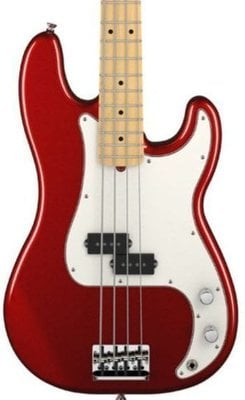 Fender American Standard Precision Bass MN Mystic Red