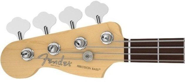 Fender American Standard Precision Bass Left Handed Mystic Blue