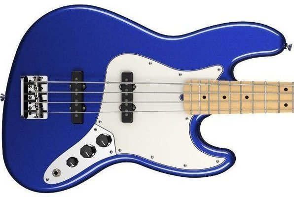 Fender American Standard Jazz Bass Maple Fingerboard Mystic Blue