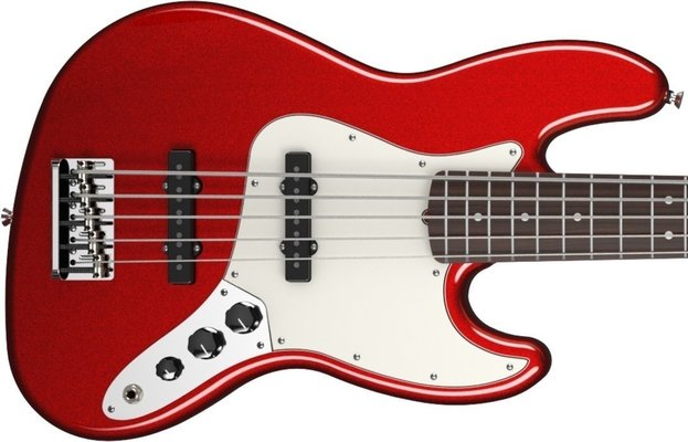 Fender American Standard Jazz Bass V Five String Mystic Red