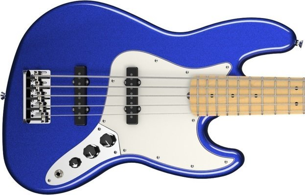 Fender American Standard Jazz Bass V Five String Mystic Blue