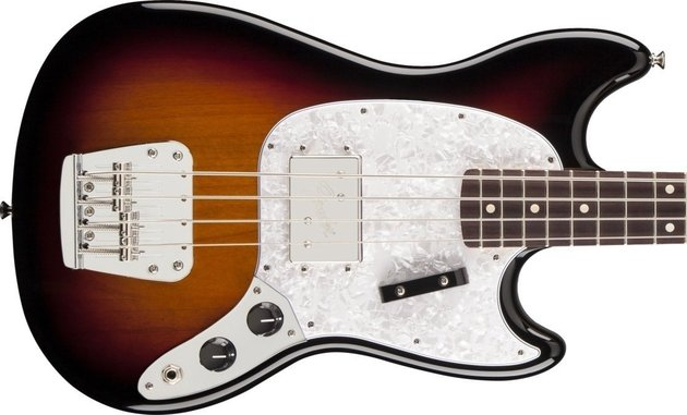 Fender Pawn Shop Mustang Bass 3 Color Sunburst