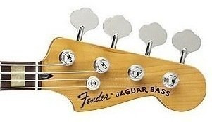 Fender Deluxe Jaguar Bass Black