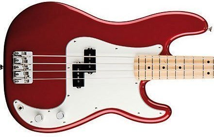 Fender Standard Precision Bass RW Candy Apple Red