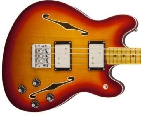 Fender Starcaster Bass Aged Cherry Burst