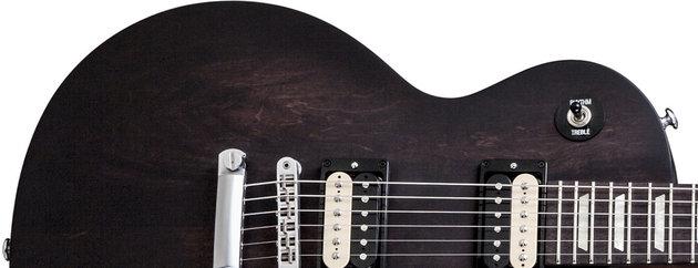 Gibson LPM 2014 w/Min E Tune Rubbed Vintage Shade Satin