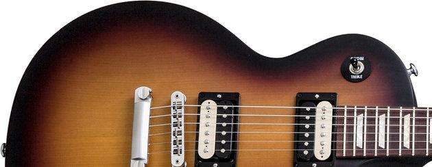 Gibson LPM 2014 w/Min E Tune Fireburst Satin
