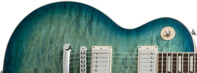 Gibson Les Paul Standard Premium Quilt 2014 Ocean Water Perimeter