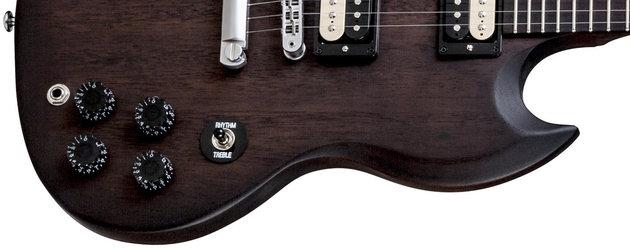 Gibson SGM 2014 w/Min E Tune Vintage Burst Satin