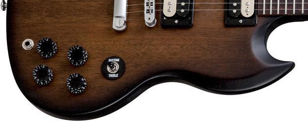 Gibson SGM 2014 w/Min E Tune Vintage Sunburst Perimeter Satin