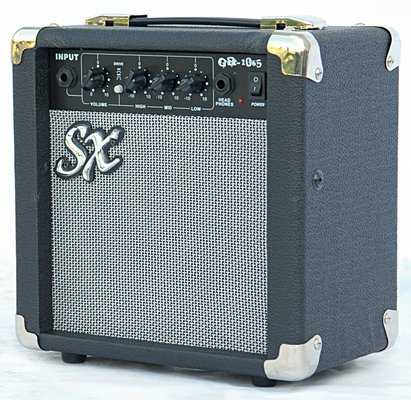 SX SB1 Bass Guitar Kit Black