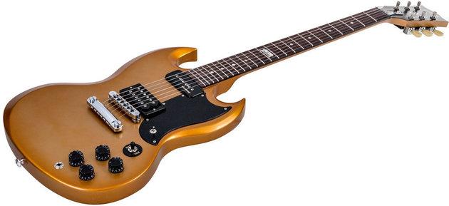 Gibson SG Futura 2014 w/Min E Tune Bullion Gold Vintage Gloss