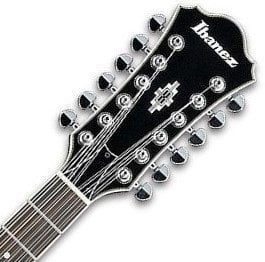 Ibanez AS 7312 12 string Transparent Cherry