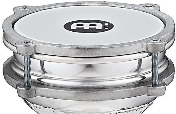 Meinl HE-110 Aluminium Darbuka with Synthetic Head, 5 1/3''
