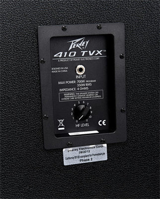 Peavey TVX 410EX 4ohm