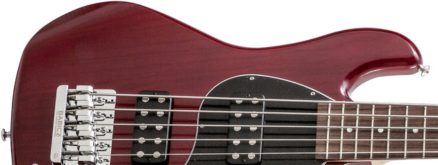 Gibson EB 2014 5 String Brilliant Red Vintage Gloss