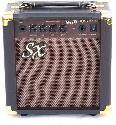 SX SA3 Electric Acoustic Kit Vintage Sunburst
