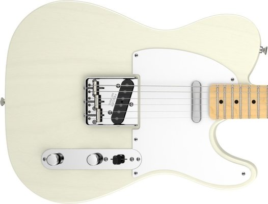 Fender American Vintage '58 Telecaster, Maple Fingerboard, Aged White Blonde